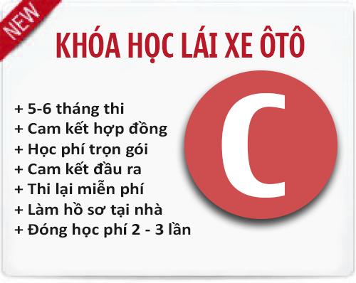 Học lái xe ô tô Hạng C