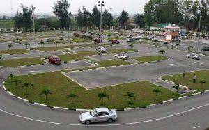 Sân thực hành học lái xe ô tô hạng C