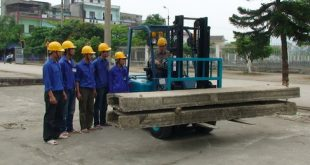 Học lái xe nâng tại Quảng Ngãi