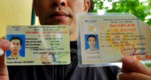 Đổi bằng lái xe thẻ giấy sang thẻ nhựa (PET)