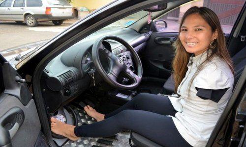 Minh họa: người khuyết tật được phép lái xe