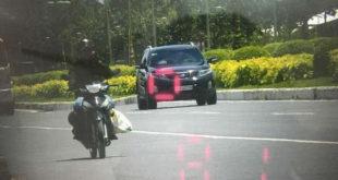 Minh họa: Công an trưng chứng cứ chứng minh xe Trung tướng vi phạm tốc độ