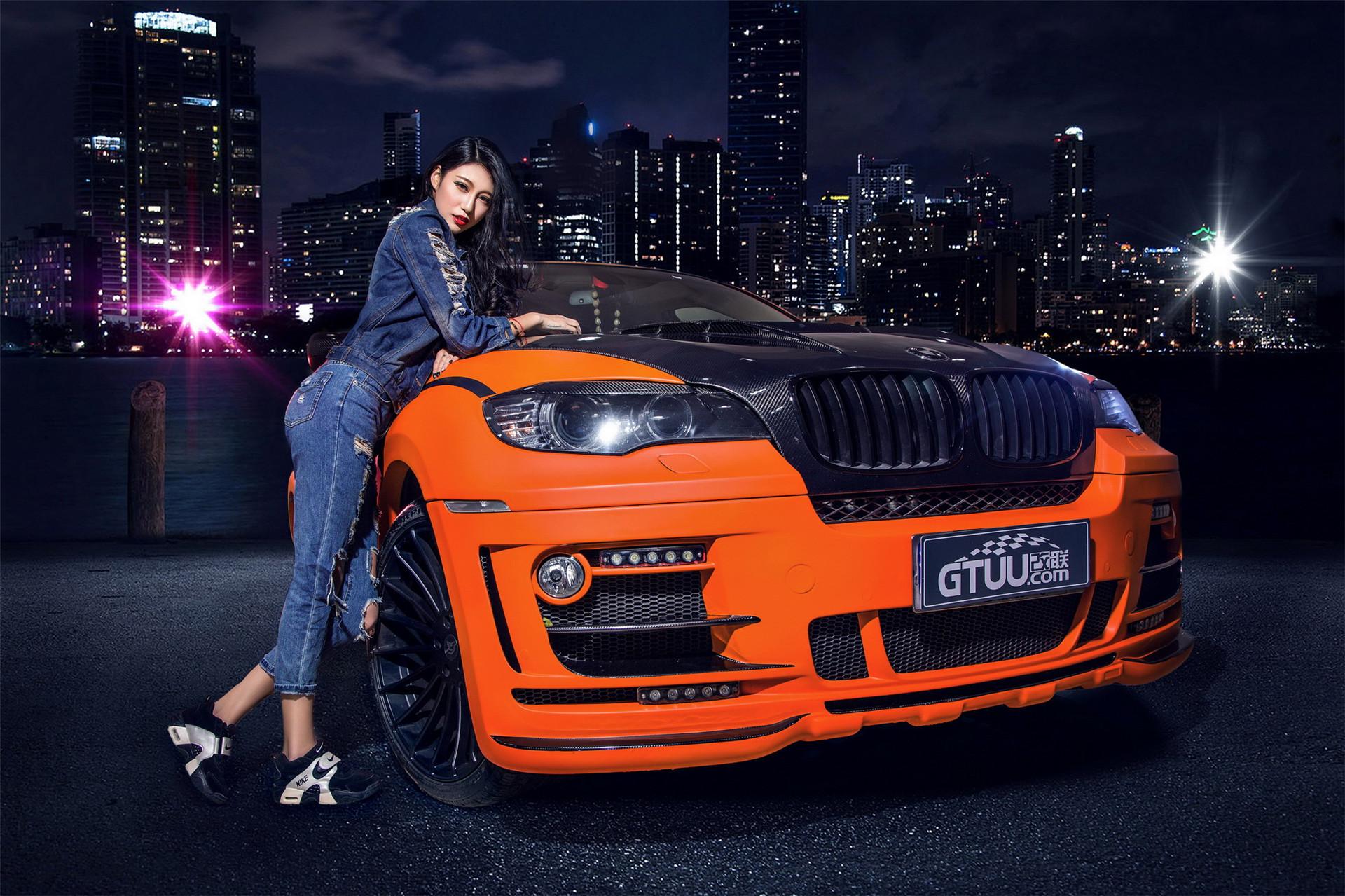 Cô nàng cá tính và gợi cảm bên BMW X6