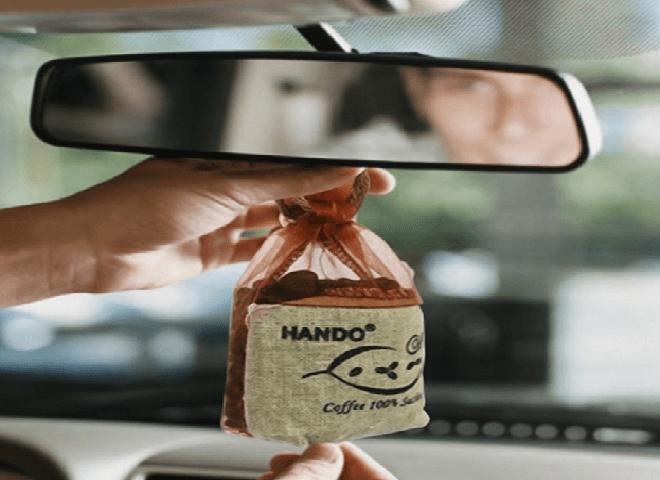 khử mùi hôi khó chịu trên xe hơi