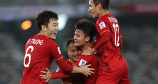 tuyển Việt Nam sáng cửa vào vòng 18
