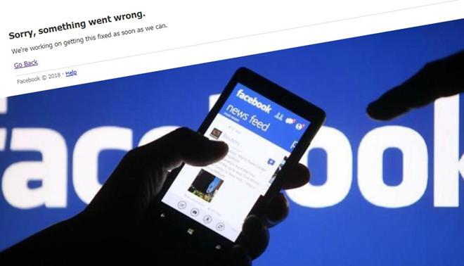 Facebook và instagram đang bị lỗi nghiêm trọng