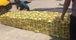 Triệt phá đường dây ma túy với hơn 1,1 tấn hàng đá