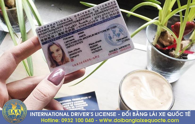 Đổi bằng lái xe quốc tế tại Bình Dương