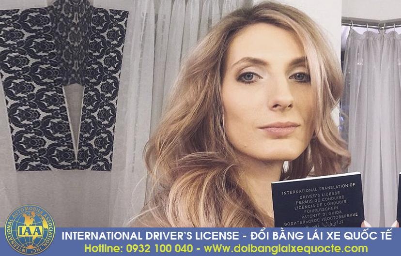 Đổi giấy phép lái xe quốc tế tại Bình Dương