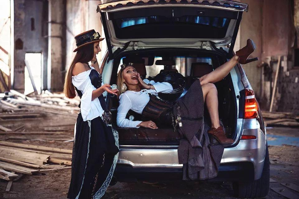 Ngắm em xinh bên BMW X3