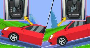 Cách đỗ xe ô tô ngang dốc an toàn