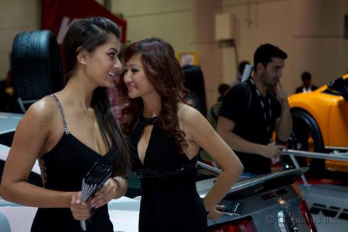 Thiếu nữ duyên dáng tại triển lãm xe độ SeMa