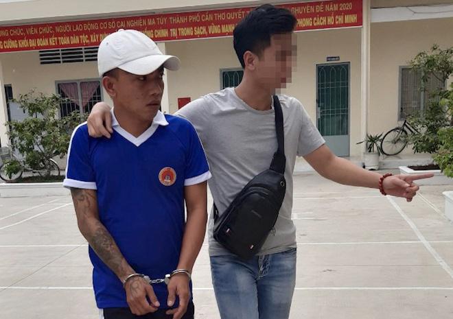 Nam thanh niên trốn lệnh truy nã trong trại cai nghiện