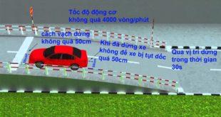 Kinh nghiệm thi bằng lái xe ô tô năm 2020