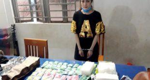 Hotgirl 9x đeo balo ma túy từ Campuchia về Việt Nam